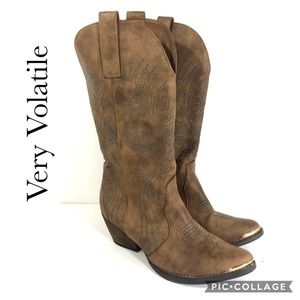 Very Volatile heeled Cowboy boots 8